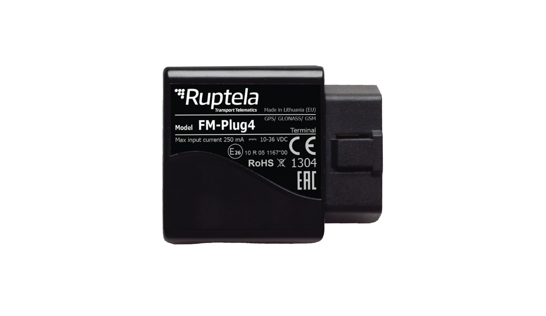 FM-Plug4 is a Plug & Play type GPS tracking device - Ruptela
