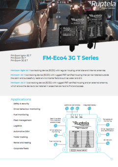 FM Eco4 3G T datasheet